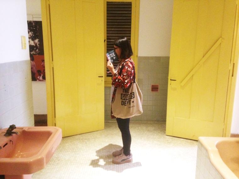 Kamar Mandi di Museum Perumusan Naskah Nasional yang masih bersih dan terawat, eitss tapi tidak boleh dipergunakan ya